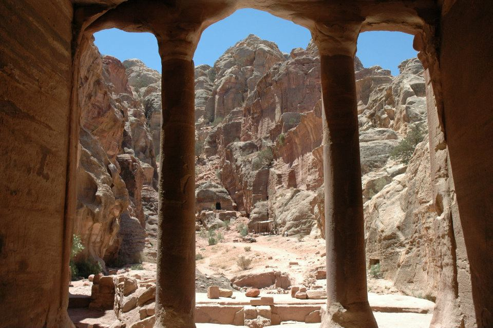 Jordan window on Petra by Tammi Reichel