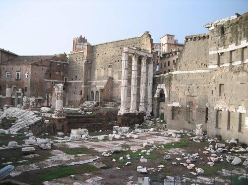 The Roman Forum, by Kate Reynertson
