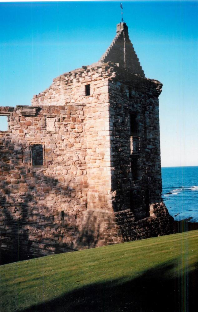 St. Andrews Castle ruin