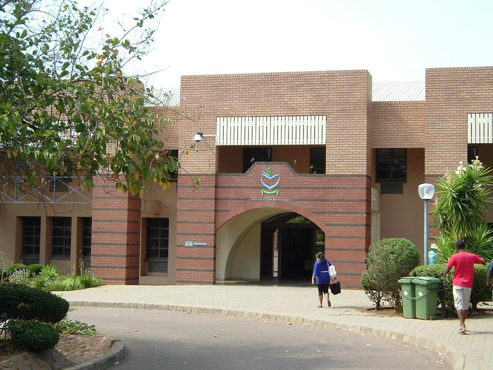 U of Botswana admin building